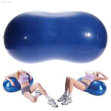 8B2A Anti-Burst Yoga Ball Peanut Shape Fitness Exercise Sports Gym Colorful Dura