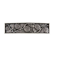 Pine Cone Artisan Hand Crafted Pewter Barrette Hair Clip by Oberon Design
