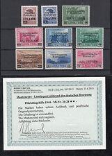 Montenegro, N. 20-28, posta freschi, risultati Brunel VP
