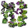 NBK Construction Vehicles Engineering Truck Robot Combiner Devastator 6 in 1