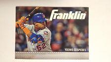 2016 Topps Franklin #TF-10 Yoenis Cespedes Baseball Card