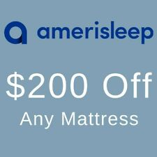 Amerisleep Coupon Code - $200 Off Any Mattress -  Discount Promo Referral