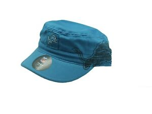 NFL Official Detroit Lions Youth Girls Size (7-16) Flat Top Snap Back Hat New
