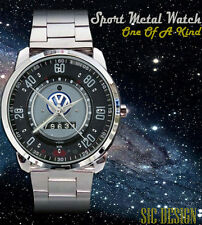 VW Volkswagen Beetle Superbug Custom Sport Metal Watch