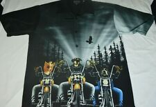Bootzilla Bootsy Collins Dragonfly Dog Motorcycle Riders Button Shirt Mens XL
