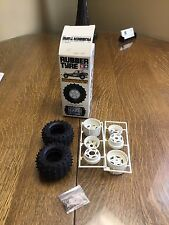 Tamiya Vintage  Wheel and Tire Set Rear - Buggy Spike Tires 5183 183