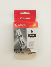 GENUINE CANON BCI 6 BLACK ink cartridge iP3000 MP750 S830 i860 BJF890 i900D iP40