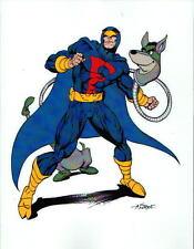 BLUE FALCON & DYNO-MUTT PRINT Hanna Barbera