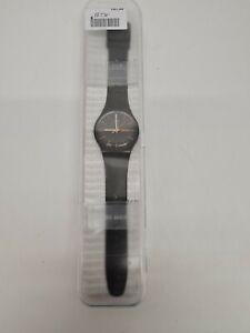Rare Swatch Dark Rebel Watch SU0B704 with Certificate and Case.