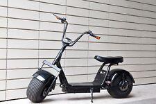 Elektro Roller E-Scooter scrooser citycoco stil 1000W 2 Sitze 50km 30km/h