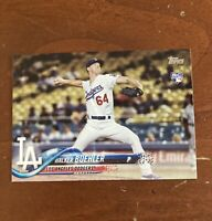 Walker Buehler 2018 Topps RC Rookie Card # 177 Los Angeles Dodgers Base