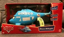 DISNEY CARS Supercharged Series - DINOCO HELICOPTER w/ Mater - New in Box WORKS