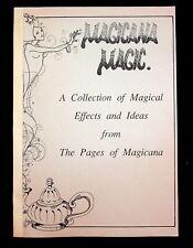 Magicana Magic Jim Reiley Magic Book Magician 1987