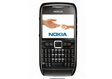 Nokia E Series E71 - BLACK (Unlocked) Smartphone WIFI GPS