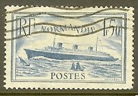"""FRANCE TIMBRE STAMP N°300 """"PAQUEBOT """"NORMANDIE"""""""" OBLITERE TB"""