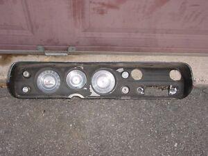 1965 Chevelle Factory Dash Tachometer Cluster SS Malibu 300 Z16