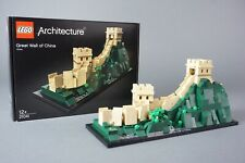 Lego Architecture great Wall of China 21041 Chinesische Mauer 1.44Z