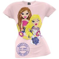Bratz - Girls Pink Patented Youth T-Shirt