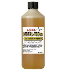 UK's Leading Friction Reducing Oil Additive  AMETECH METAL-TEC10 Metal Treatment