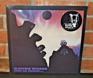 ELECTRIC WIZARD - Come My Fanatics.. Ltd Import 2LP RED COLOR VINYL Gatefold New