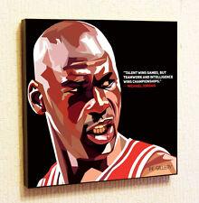 Michael Jordan NBA Backetball Decals Decor Print Wall Art Poster Pop Canvas
