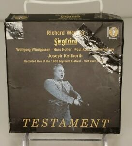 SIEGFRIED, Keilberth, Varnay, @1955 Bayrueth Festival, 4 CD Set, Discs Like New