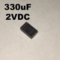 EEF-UE0G331R  Aluminum Organic Polymer Capacitors 330uF 4VDC 20/% SMD