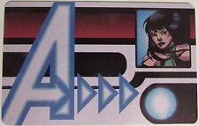 AVID-010 SERSI ID CARD Avengers Assemble Marvel Heroclix