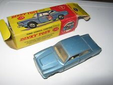 DINKY 139 FORD CORTINA SALOON PLAYWORN ORIGINAL IN AGE WORN ORIGINAL BOX ASSHOWN