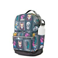 LICENSED Loot Llama FORTNITE Camo Grey Multiplier Character Backpack Laptop Bag