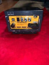 vintage rare Kienzle Argo Taxi Meter A101 taximeter fare cab