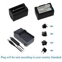 Battery for Panasonic CGA-D54 AG-HPX170 AG-HPX250 AG-HPX255 AG-HVX200 / Charger