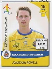 N°276 ROWELL ENGLAND WAASLAND-BEVEREN HARTLEPOOL STICKER PANINI PRO LEAGUE 2015