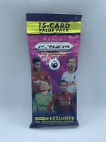 2019 Panini Prizm Soccer Premier League Cello Fat Pack Red White Blue HOT