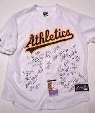 JSA Sonny Gray Rickey Henderson Signed Autographed Oakland A's Baseball Jersey