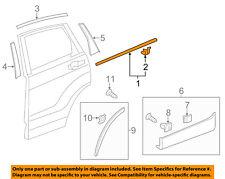 HONDA OEM 2012 CR-V Rear-Window Sweep Belt Felt Molding Right 72910T0AA01
