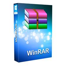 WinRAR 5.91 64Bit and 32Bit (Lifetime License)