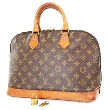 Authentic LOUIS VUITTON Alma Monogram Hand Bag Purse #37410