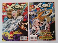 X-Force #28 & 29 NM/NM+ (Marvel,1993) Reignfire, Rictor, Shatterstar