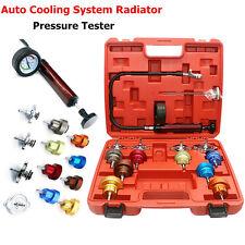 Car Leak Detector Kits Cooling System Pump Gauge Radiator Pressure Tester Tool