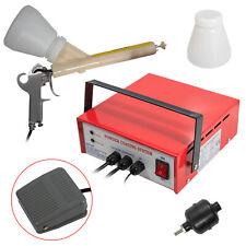 110v Red Portable Professional Powder Coating System Paint Gun Coat Kit Pc03 2