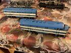 Varney HO Missouri Pacific Diesel Locomotive 1954 vintage Shells Plastic