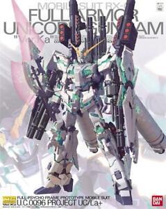 BANDAI MG 1/100 Gundam mobile suit model Full Armor RX-0 UNICORN Ver KA AU STOCK