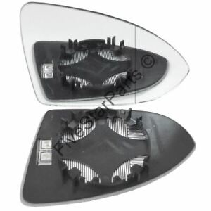 Right Driver side wing mirror glass for VW Golf mk7 Wide Angle 2013-20 heated