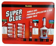 Scotch Super Glue Precision Applicator and Pen Combo Pack
