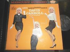 DAVID CARROLL~Let's Dance Dance Dance~1961 MERCURY STEREO CHEESECAKE JAZZ LP