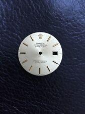 Fits 16030 16013 16220 16234 Original Rolex Mens Datejust Gold Quickset
