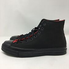 6a806a555bb9 Converse x NBA Chicago Bulls Men s Size 10 Black Leather Chuck Taylor All  Stars