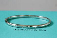 Tiffany Platinum Diamond Etoile Bracelet Bangle RRP £6500