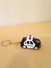 Key Chain with State Police Car